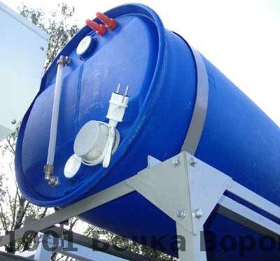бак с подогревом 200 литров